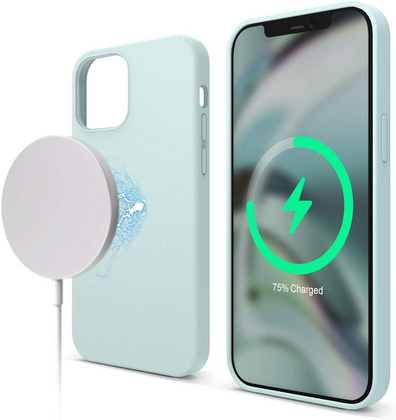 ELAGO Magsafe Silicone Case for iPhone 12/PRO - Mint