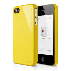 Elago S4 Slim Fit 2 Case for iPhone 4/4s - Sport Yellow