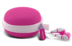 Canyon Stereo Earphone - Pink