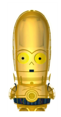 C-3PO - Mimobot USB Flash Drive 2GB