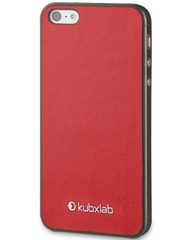 Kubxlab Ultra Thin Case for iPhone 5/5s/SE - Red