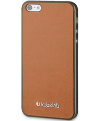 Kubxlab Ultra Thin Case for iPhone 5/5s/SE - Brown