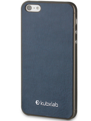 Kubxlab Ultra Thin Case for iPhone 5/5s/SE - Navy Blue