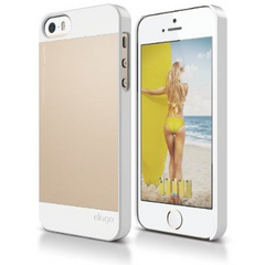 S5 Outfit Aluminum Case - White / Gold