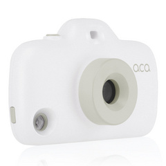 ACA Toy Camera Case with 8 Filters - White / Gray