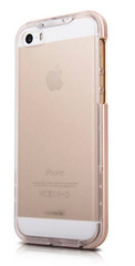 Inner Exile Edge Hybrid hard shell case for iPhone 5/5s - Gold