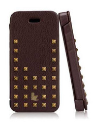 Jison Case Premium Leather Case for iPhone 5/5s/SE - Brown