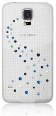 BMT Case For SAMSUNG GALAXY S5: MILKY WAY - Blue Mix