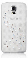 BMT Case For SAMSUNG GALAXY S5: MILKY WAY - Angel Mix