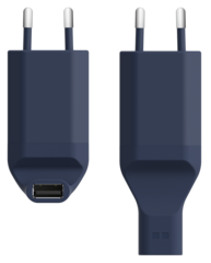 Ora-ïto Travel Charger 2.1A - Blue