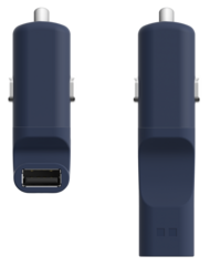 Ora-ïto Car Charger 2.3A - Blue