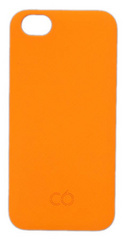 C6 Matt finish hard case for iPhone 5/5s - Tangerine