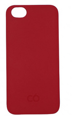 C6 Matt finish hard case for iPhone 5/5s -  Red