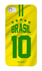 Moxie World Cup case for IPhone 4/4S - Brasil