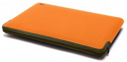 Neoprene Zip Sleeve for MB Air 11″ - Tangerine/Olive