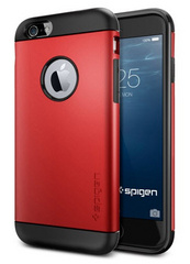 Slim Armor Case - Electric Red