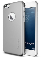 Thin Fit A Case - Satin Silver