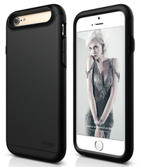 S6 Duro Case - Matt Black / Black