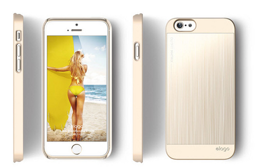 Elago S6 Outfit Matrix Case for iPhone 6/6s - Champagne Gold / Champagne Gold