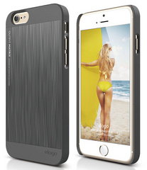 S6 Outfit Matrix Case - Dark Gray / Dark Gray