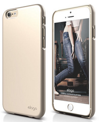 S6 Slim Fit 2 Case - Champagne Gold