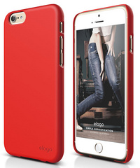 Elago S6 Slim Fit 2 Case for iPhone 6/6s - Extreme Red