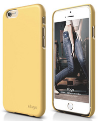 S6 Slim Fit 2 Case - Creamy Yellow