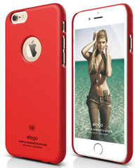 Elago S6 Slim Fit Case for iPhone 6/6s - Extreme Red