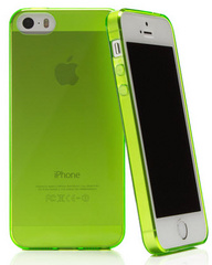 Caseual Flexo Slim Case for iPhone 5/5s - Green