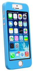 Caseual Thin Skin Case for iPhone 5/5s - Blue