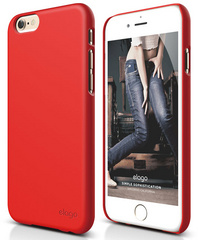 S6 Plus Slim Fit 2 - Extreme Red