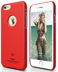 S6 Plus Slim Fit - Extreme Red
