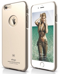S6 Plus Slim Fit  - Champagne Gold