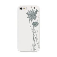 BMT Ayano Kimura Lotus White case for iPhone 5/5s/SE
