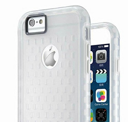 Makeit Hybrid Protective Bumper - Clear / White