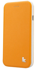 Leatherette Standing Case - Yellow
