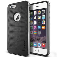 Verus Iron Shield case for iPhone 6/6s - Satin Silver