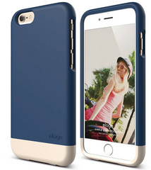 S6 Glide for iPhone 6 only - Jean Indigo / Champagne Gold