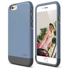 S6 Glide for iPhone 6 only - Royal Blue / Dark Gray