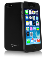 Caseual Thin Skin Case for 5/5S - Black