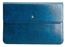 Vintage Genuine Leather Sleeve for MB Air 13'' - Blue