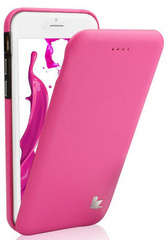 Jison Case Premium Leatherette Case for iPhone 5/5s/SE - Pink