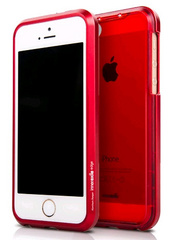 Inner Exile Edge Hybrid hard shell case for iPhone 5/5s - Red