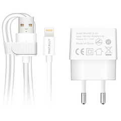 Macally 12Watt EU Lightning Wall Charger