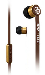 SUDIO Klang Earphones for iOS - Brown