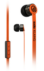 SUDIO Klang Earphones for iOS - Orange