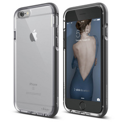 S6 Dualistic Case - Transparet / Dark Gray