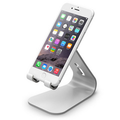 M2 Stand for all iPhones, Galaxy and Smartphones - Silver
