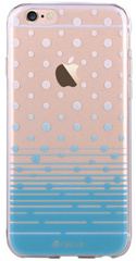 Devia Vango Soft Polka TPU Case for iPhone 6/6S - Blue