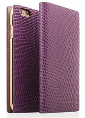 D3 Lizard Leather Case for iPhone 6/6s Plus - Purple